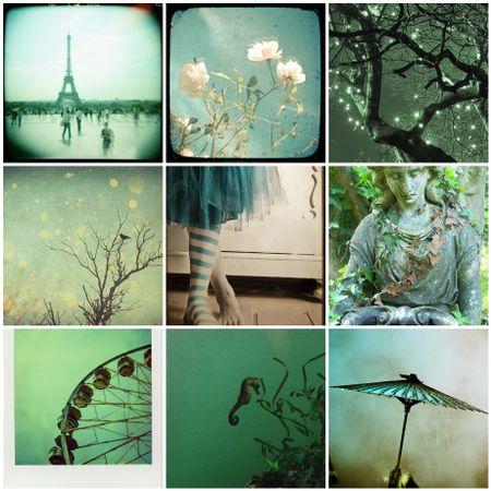 Turquoisy-green