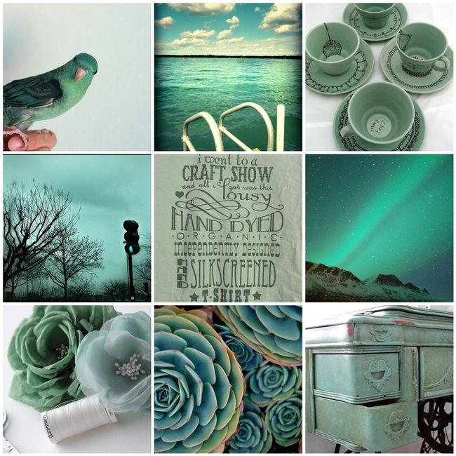 Turquoise & Aqua